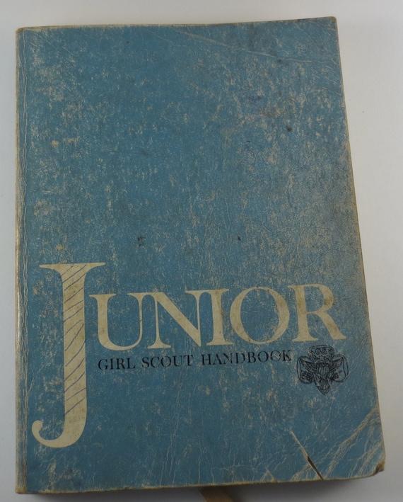 Vintage girl scout handbooks