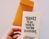 Things Todo When You're Anxious