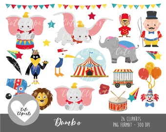 50% OFFSALE Dumbo clipart-Dumbo Digital Clip Art-Kids Clipart-Disney clipart-elephant clipart-dumbo stickers-dumbo cute cliparts-png clipart