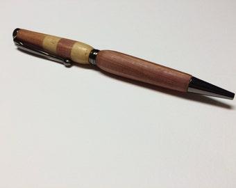 Hand-turned, Eastern Red Cedar pen