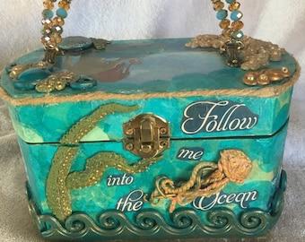 Mermaid box purse