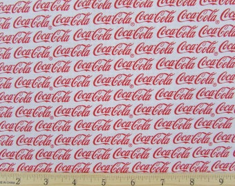 Coca Cola Coke Logo Fabric From Sykel