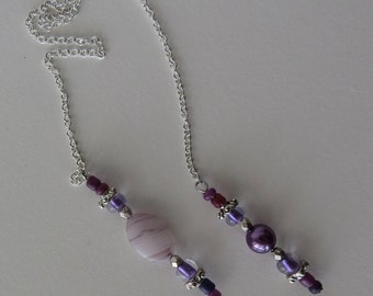Chain Purple Bookmarker