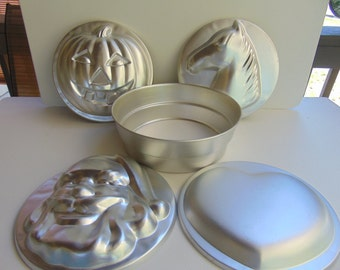 Wilton Insert Pan with 4 Inserts