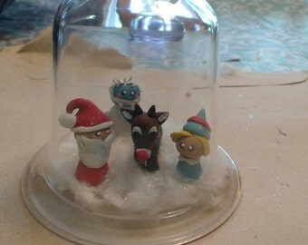 Rudolph Christmas set