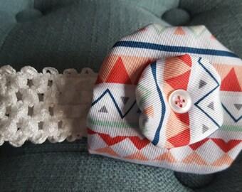 Baby Yoyo flower headband