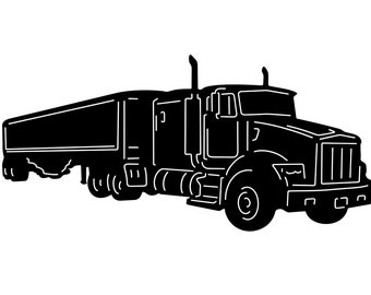 Tractor trailer, Vinyl window decal,  stickers , wholesale decal, wholesale sticker, bulk,  wall decor, big rig, 18 wheeler, semi truck,
