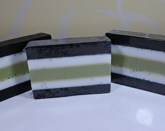 Multi-layer Mint Soap