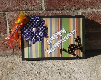 Mini Halloween Scrapbook