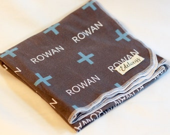 "The ""Rowan"" Blanket PERSONALIZED"