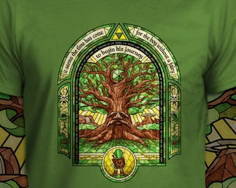 The Deku Tree - The Legend of Zelda T-Shirt - Men's / Unisex & Women's Fit