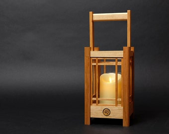 Japanese Candle Wood Lantern