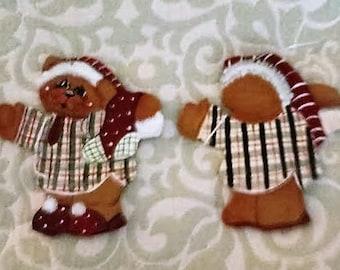 Ber wit stocking ornament