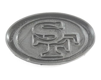 San Francisco 49ers 3d Printed Cookie Cutter - Football Team Fan