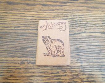 1940's Era Souvenir Address Book from Diamond Lake, Oregon