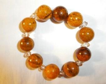 bracelet made of semiprecious stones
