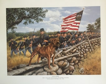 Loyal Heart, Civil War Art Print