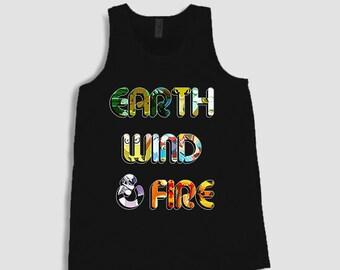 Earth Wind and Fire Pokemon Men's Tank
