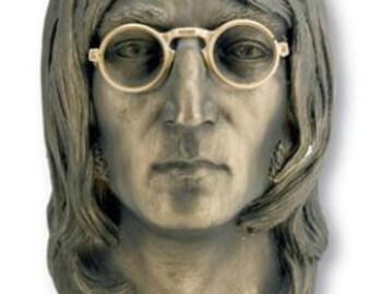 Extrêmement Rare Bust Commémoratif John Lennon par Esco