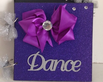 Young Dancer 8 x 8 Chipboard Premade Album