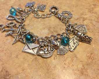 The Fault In Our Stars by John Green charm bracelet