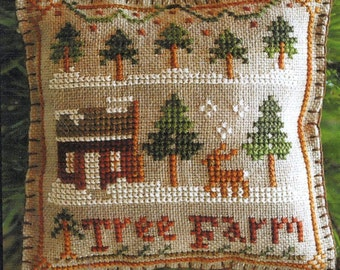 Tree Farm by Little House Needleworks Counted Cross Stitch Pattern/Chart