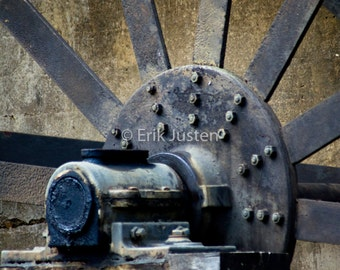 Water Wheel on Old Mill