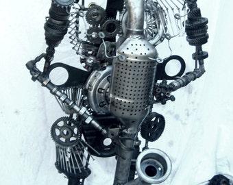 "Sculpture metal ""El pistouflero"""