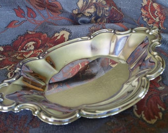 Inernational Silver Vintage Tray Candy Dish