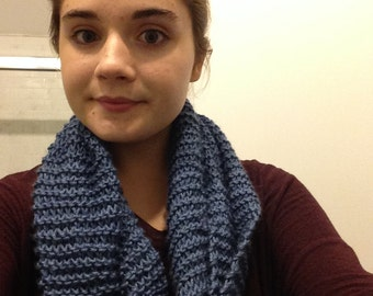 Handknitted Infinity Scarf