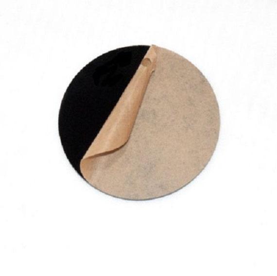 Black Acrylic Plexiglass 1 8 Quot Plastic Sheet Circle Disc 4