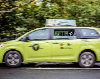 Ghostface Taxi Cab