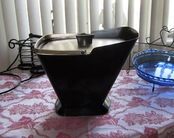 Aluminum Ice Bucket Retro Mid-Century