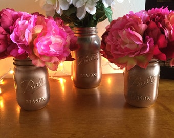 Decorative Mason Jars that can be custom made!