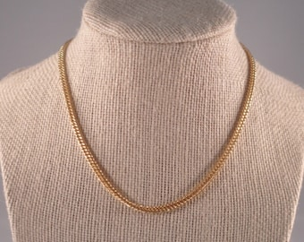 14k gold plated chain choker Chokers for her Gifts for her Gold chain Girls fashion Girlfriend gift