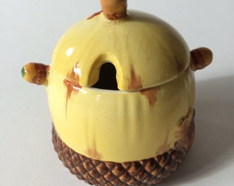 Art Deco Burleigh Ware Honey Pot