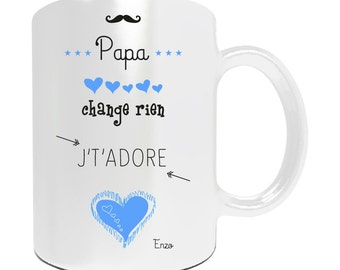 Mug to be personalized for Dad, I love you