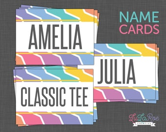 Lularoe set of 80 cards lularoe chalkboard by lularoecreative for Lularoe name cards