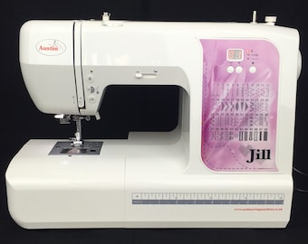 Austin AS7000 Jill Computerised New Sewing Machine with Accessories and *FREE UK delivery