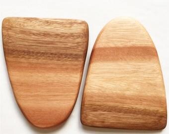 H E L D Wooden Serving Wedges // Salad Tongs // Kitchen Utensils