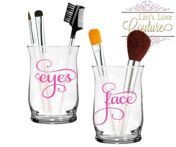 Makeup Brush Holders Face Eyes Personalized Make Up Brush