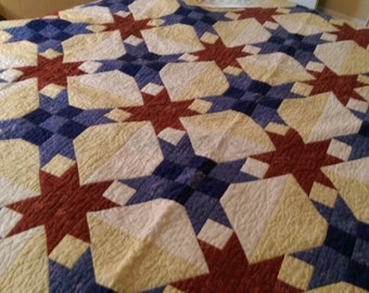 Handmade Quilt - Star Gazing