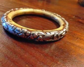 Tibetan style 'silver bracelet