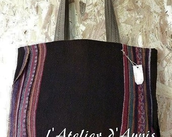 BAG Tote antic poncho
