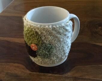 Mug cosy - knitted