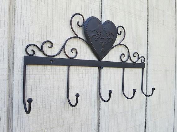 Metal Wall Hooks Love Birds Home Decor Bird Wall By Ashlyncolelee