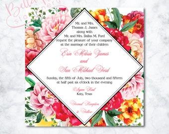 Erin Wedding Invitation Design