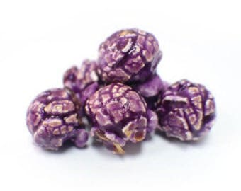 Purple Popcorn (Grape) Gourmet Popcorn Favors Gifts Bridal shower Baby Shower Birthday Party