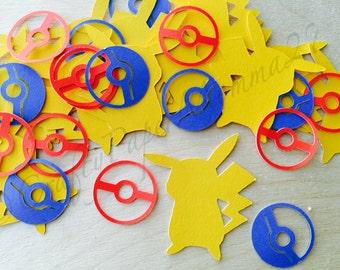 Pokemon Inspired Pikachu Confetti