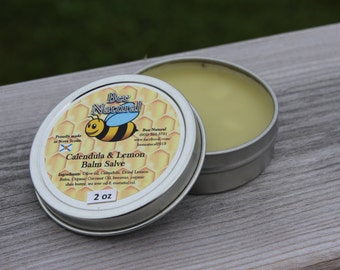 2 oz Calendula & Lemon Balm Salve